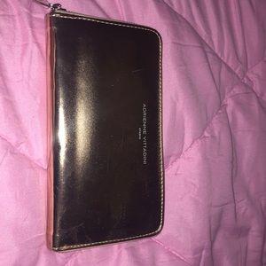 Adrienne Vittadini wallet rose gold
